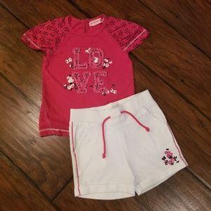 Juniors shorts set